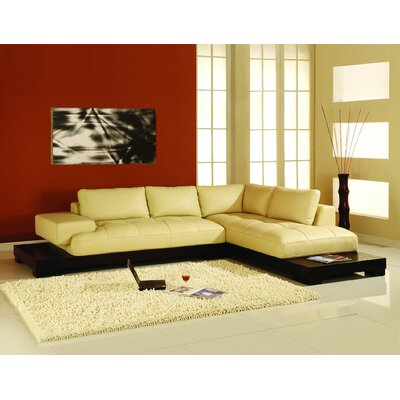 Manhattan Right Facing Chaise Sectional Sofa