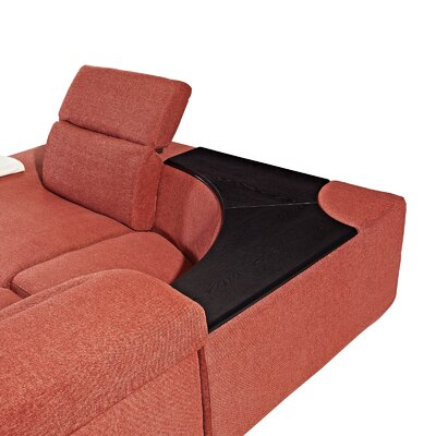 Creative Furniture Layla Left Facing Chaise Sectional Sofa