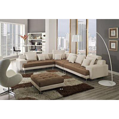 CREATIVE FURNITURE Amanda Left Facing Chaise Sectional Sofa