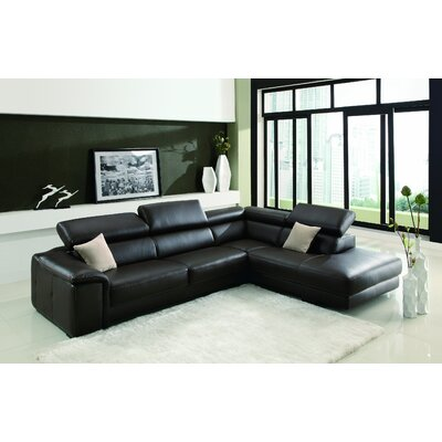 Deon Right Facing Chaise Sectional Sofa