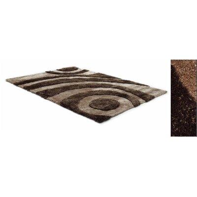 Two Tone Beige/Brown Rug