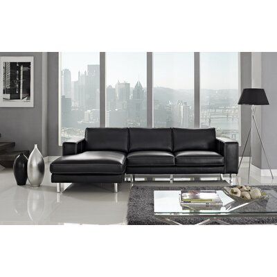 Anika Left Facing Chaise Sectional Sofa
