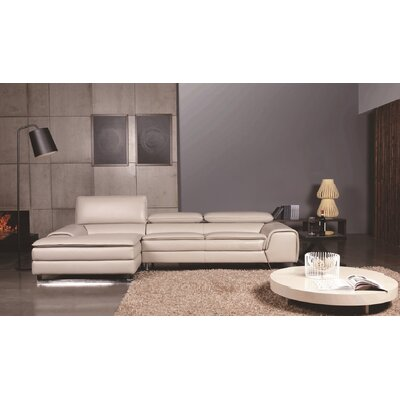 CREATIVE FURNITURE Roxana Left Facing Chaise Sectional Sofa