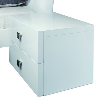 Scarlet 2 Drawer Nightstand