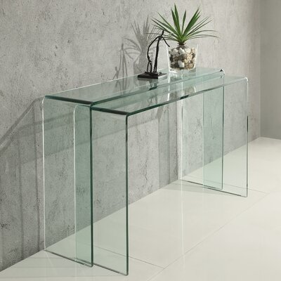 Vision 2 Piece Console Table Set