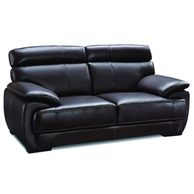 Creative Furniture Bravo Leather Loveseat