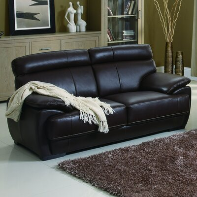 Bravo Leather Loveseat