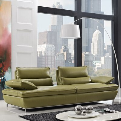 CREATIVE FURNITURE Naomi Leather Sofa