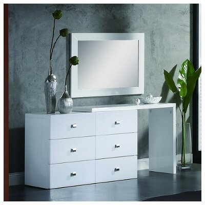 CREATIVE FURNITURE Scarlet 6 Drawer Dresser
