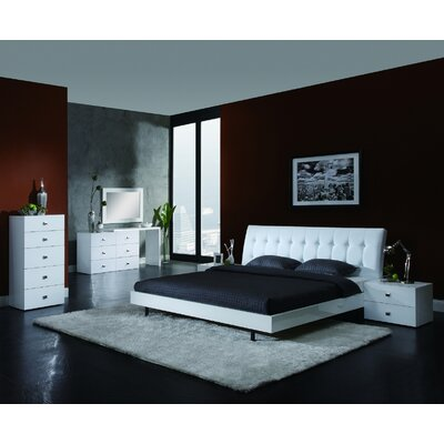 Scarlet platform bedroom collection wayfair for Creative bedroom furniture