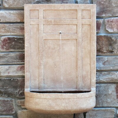 The Sicily Resin and Fiberglass Wall Fountain