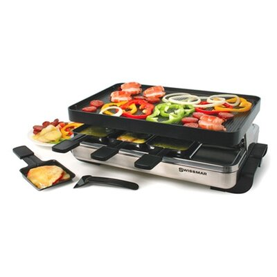 8 Person Stelvio Raclette Party Grill
