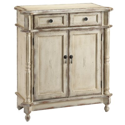 Casually Chic Hand Painted 2 Drawer Accent Chest | Wayfair