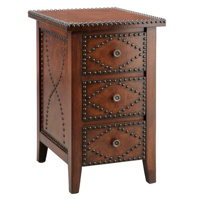 Stein World Wood Trends Southwest Inspired 3 Drawer Chairside Chest