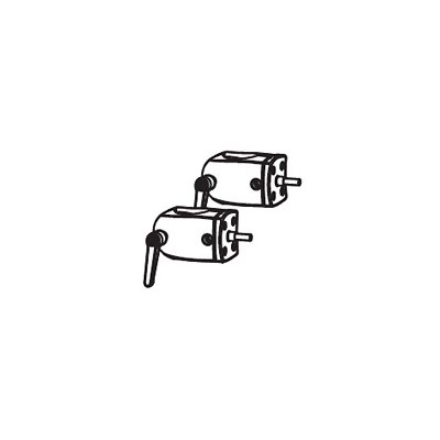 Ergotron Outboard Pole Clamp