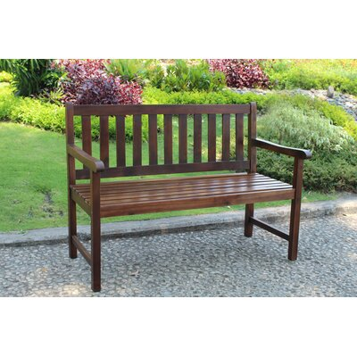 International Caravan Highland Acacia Wood Garden Bench