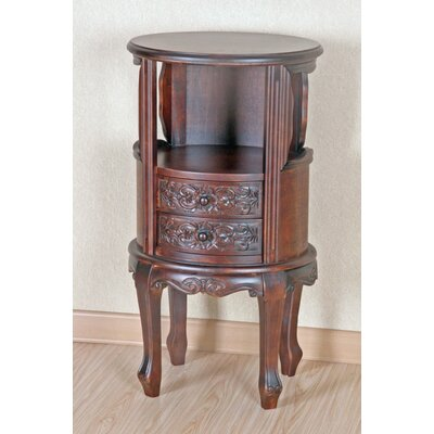 Carved Wood Furniture Telephone Table