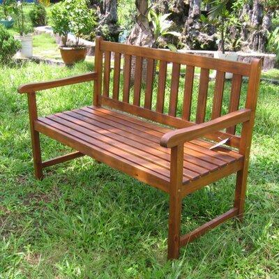 Achla Lutyens Wood Garden Bench Reviews Wayfair