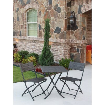 International Caravan Catalina 3 Piece Dining Set