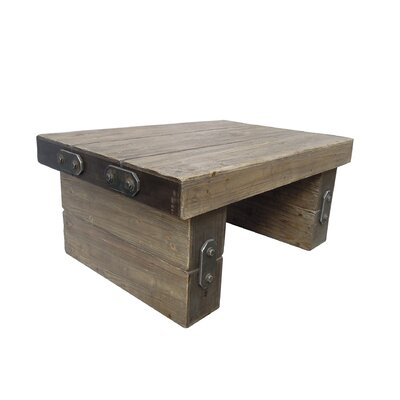 Rustic Forge Coffee Table