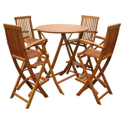 International Caravan Seville 5 Piece Bar Set