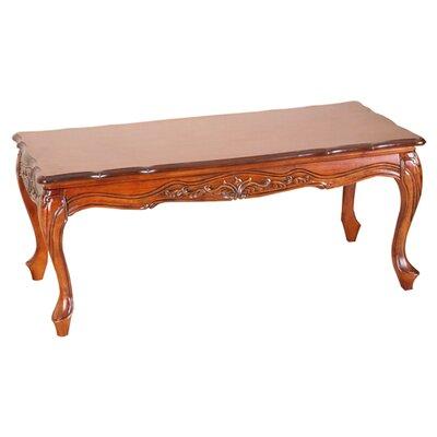 International Caravan Windsor Hand Carved Wood Coffee Table Reviews Wayfair