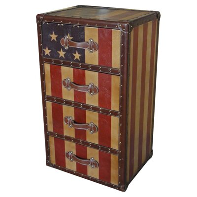 International Caravan Americana 4 Drawer Chest