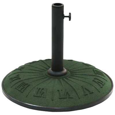 International Caravan Free Standing Resin Clock Face Umbrella Base
