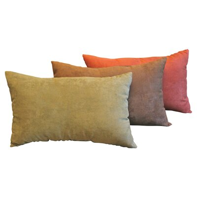 Blazing Needles Micro Suede Indoor Decorative Pillow