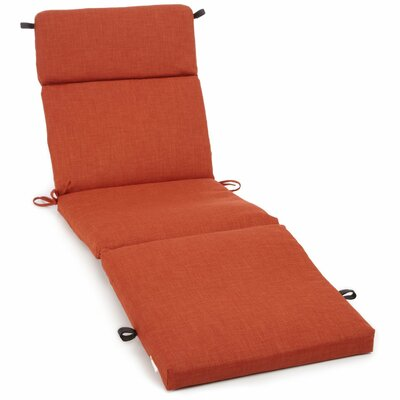 Blazing needles all weather uv resistant patio chaise for Blazing needles chaise cushion