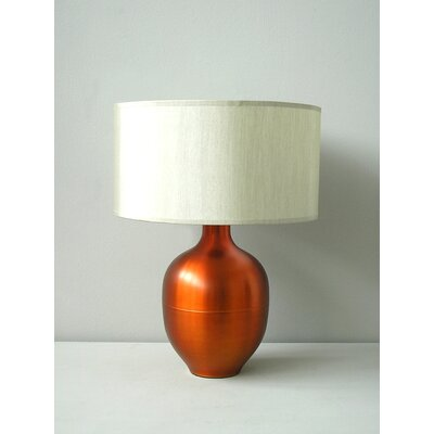 Babette Holland Rubianne Table Lamp in Fire with Pebble Shade