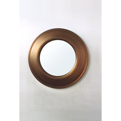 Babette Holland Target Mirror in Bronze