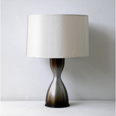 Babette Holland Baby Belle Table Lamp in Charcoal Mocha Fade with Pebble Shade