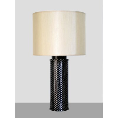 Babette Holland Midnight Matrix Table Lamp with Shade