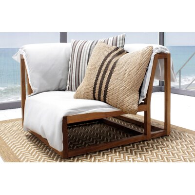 Caluco Cozy Shadow Corner Sectional Chair with Cushion