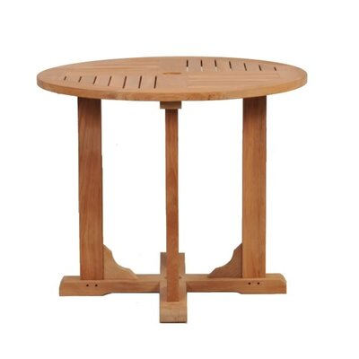 Caluco LLC Teak Round Dining Table