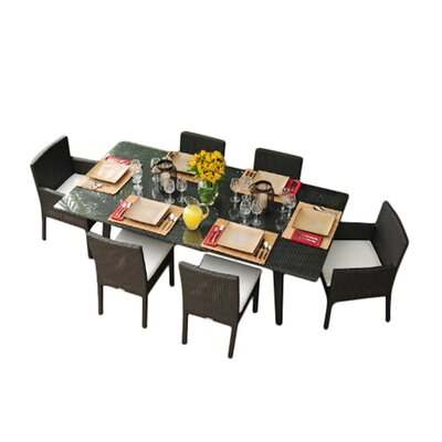 Caluco LLC Maxime 7 Piece Dining Set