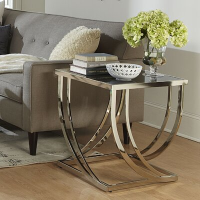 Palmetto Arch Curved Sculptural End Table