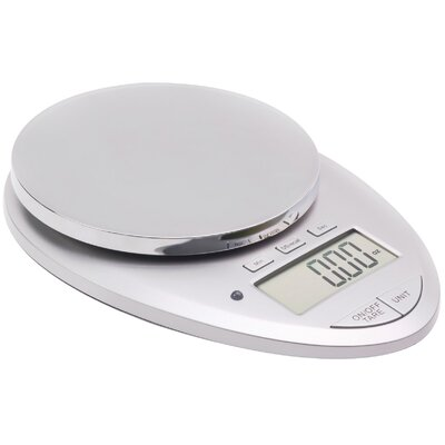 Pro II 12 lbs Digital Kitchen Scale with Kitchen Timer