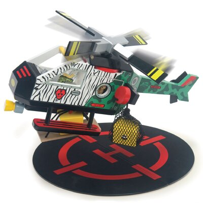 Le Toy Van Helicopter Rescue Playset
