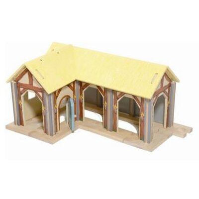 Le Toy Van Farm Building with Stabling