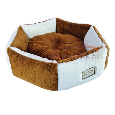 Armarkat Cat Bed in Brown and Ivory