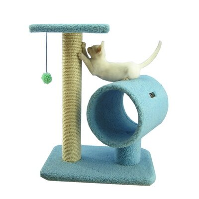 "Armarkat 26"" Classic Cat Tree in Sky Blue"