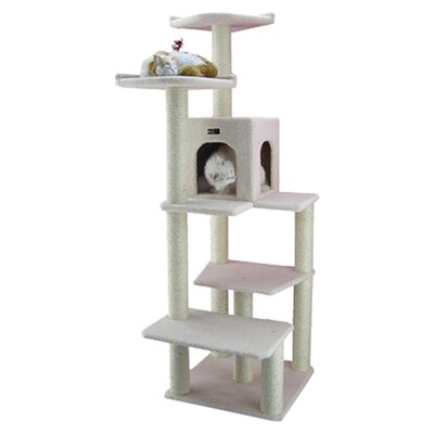 "<strong>Armarkat</strong> 68"" Classic Cat Tree in Ivory"