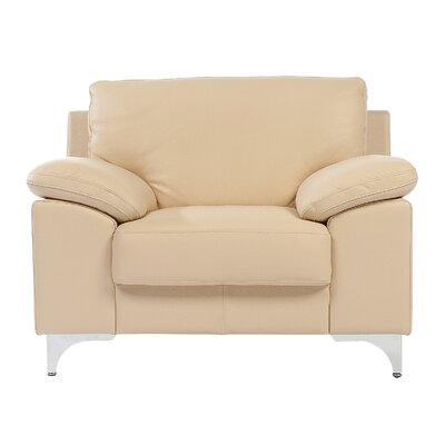 Solina Leather Arm Chair