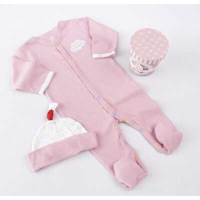 "Baby Aspen ""Sweet Dreamzzz"" A Pint of PJ's Sleep-Time Gift Set in Strawberry"
