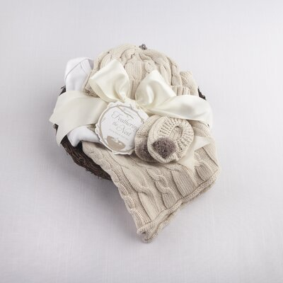 "Baby Aspen ""Feathering the Nest"" 4 Piece Layette Gift Set"