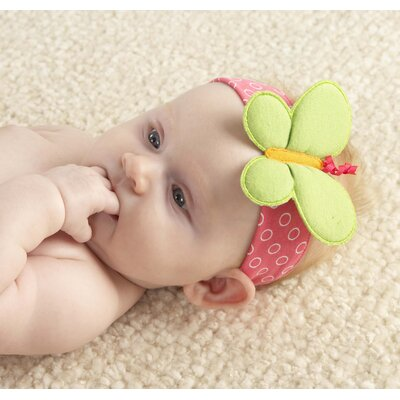 Baby Aspen ''Butterfly'' Headband with Booties Gift Set