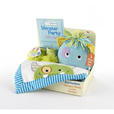 Baby Aspen Closet Monsters 3 Piece Gift Set