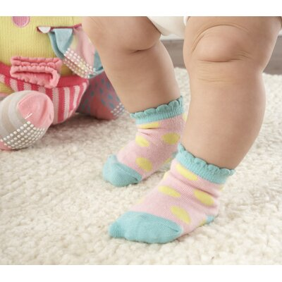 Baby Aspen Closet Monsters Knit Baby Socks and Plush Gift Set